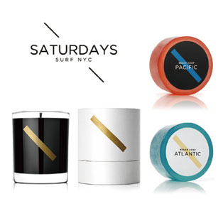 BAXTER × SATURDAYS SURF NYC  SANTALUM + CEDRUS SCENTED SOY WAX CANDLE