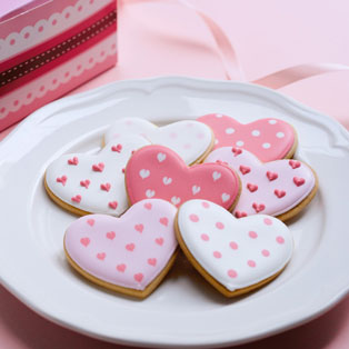 バレンタインハートクッキー【上杉純子先生】